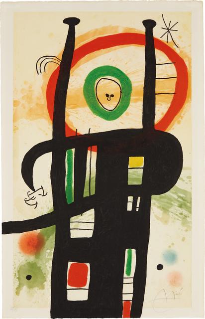 Joan Miró, 'Le grand ordonnateur (The Great Computer)', 1969, Phillips