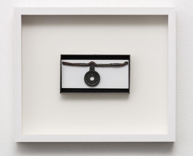 , 'Som en linje med et hængende punkt (Like a line with a hanging point),' 2018, Marie Kirkegaard Gallery