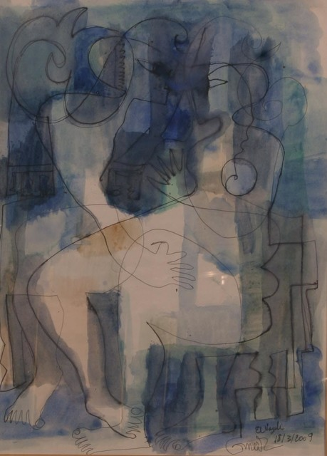 , 'Untitled,' , Easel & Camera Contemporary Art Gallery