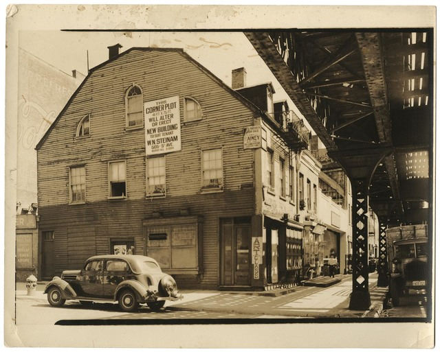 , 'Spring and Greenwich Streets.,' 1938, The Old Print Shop, Inc.