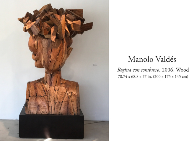 , 'Regina con Sombrero,' 2006, Durban Segnini Gallery