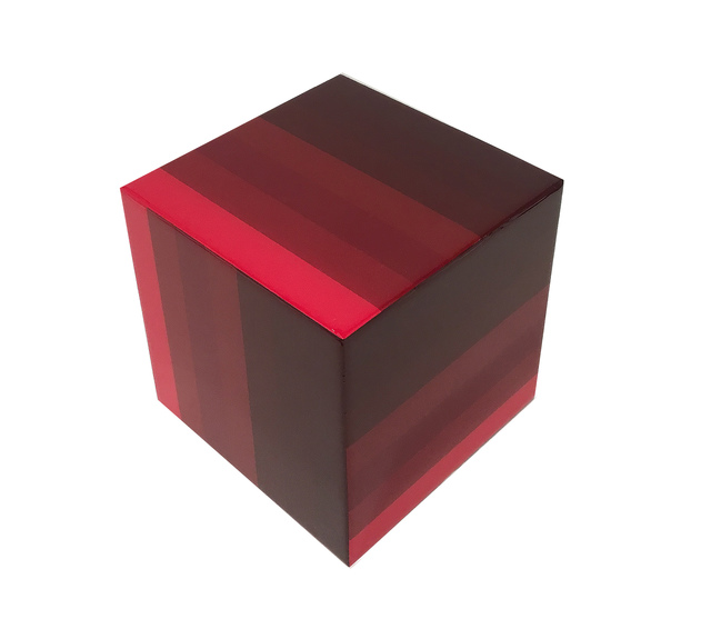 , 'Red Cube,' 2018, Margaret Thatcher Projects