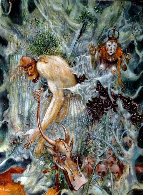 Vladimir Ryklin, 'Tribal Dance II', 1989, Art Upclose