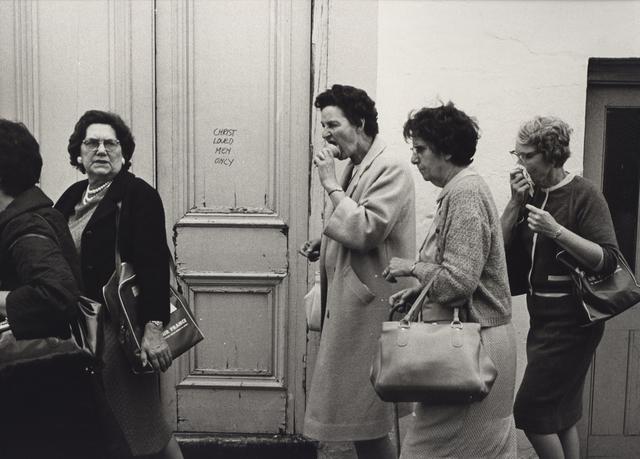 , 'Christ Loved Men Only, London,' 1967, Robert Mann Gallery