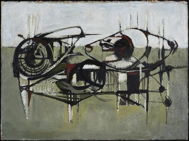 Alan Reynolds, 'Approaching Harvest', 1952, Painting, Oil on canvas, Osborne Samuel