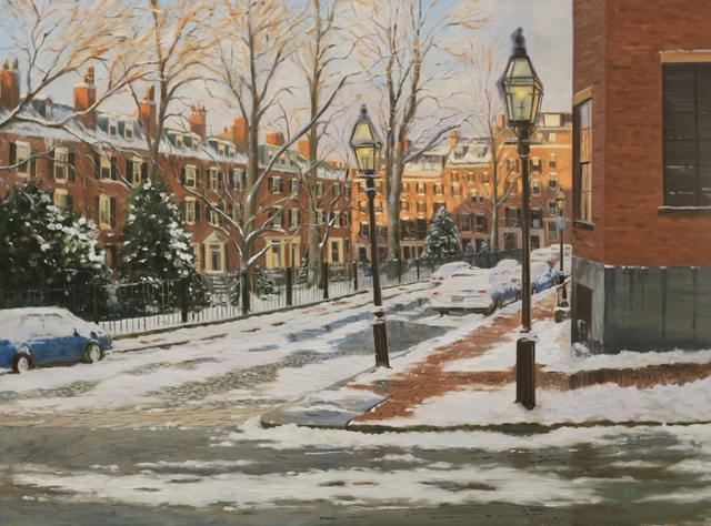 Sergio Roffo, 'Louisburg Square, Boston', 2018, The Guild of Boston Artists