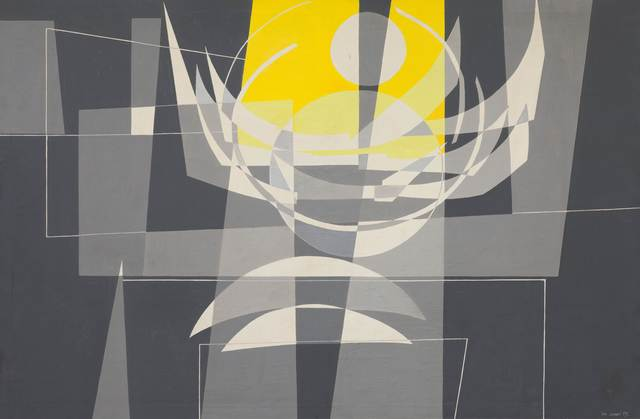 Leo Leuppi, 'Radiance', 1959, Painting, Oil on canvas, Koller Auctions