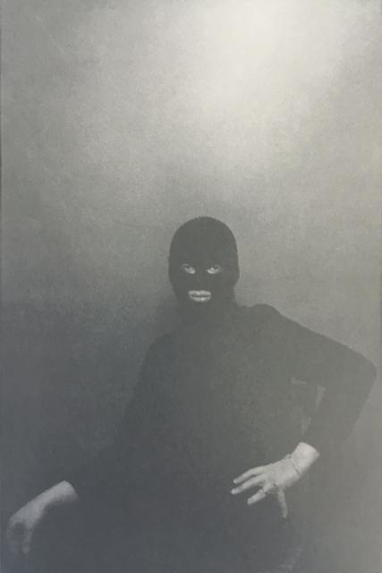 , ' Urs Lüthi, performance, self-portrait, detail,' 1976, Soyuz