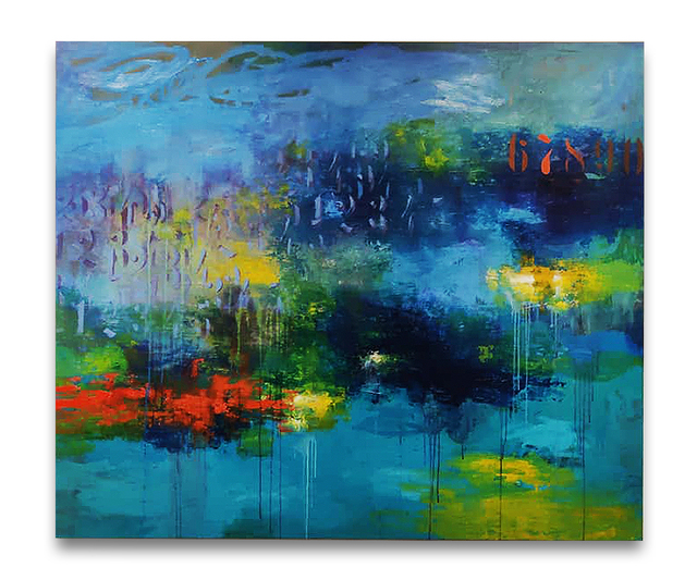 Fidel Rodriguez, 'Just Like Water', 2020, Painting, Oil on Canvas, ARTSPACE 8