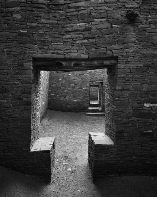 , 'Chaco Culture National Historical Park – Pueblo Bonitio Square Doorway,' 2019, Modernist Frontier