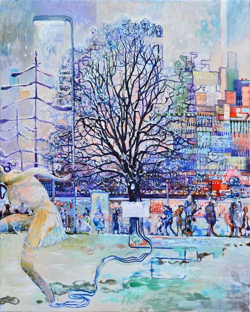 , 'Winter in the city,' 2018, Galerie SOON