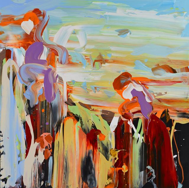 , 'Alonsoa True,' 2014, George Billis Gallery