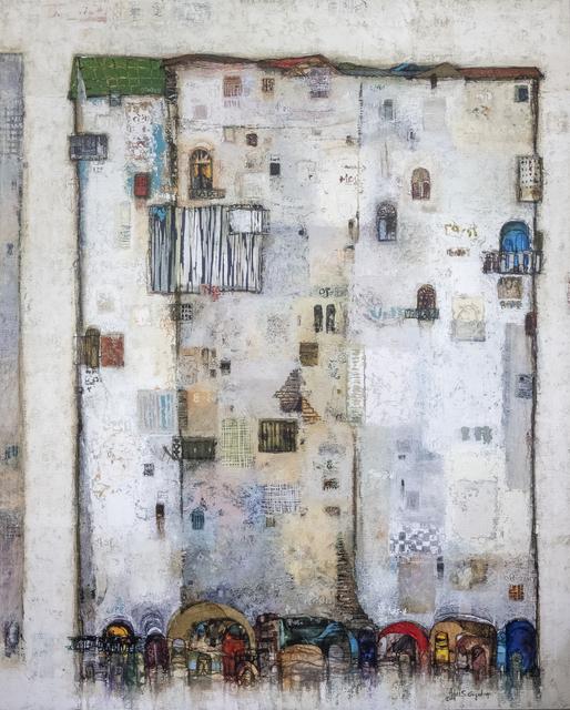 , 'White Floating Tower II,' 2019, Addis Fine Art