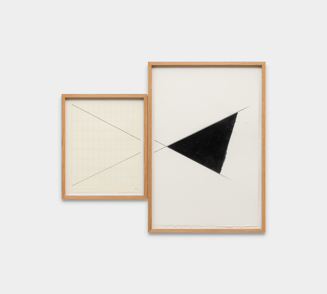 , 'untitled - series contention, saturation, and reiteration exercise,' 2018, Galeria Raquel Arnaud