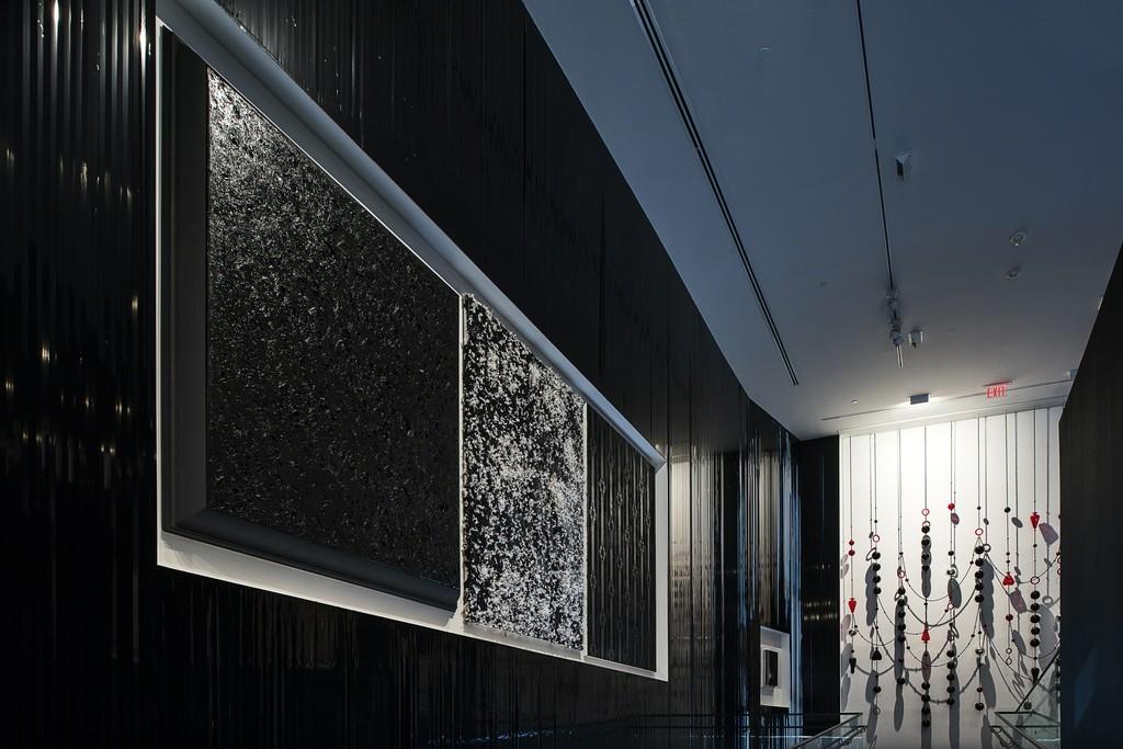 "Installation view, ""One Way: Peter Marino"""