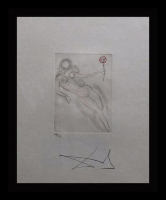 Salvador Dalí, 'Petites Nus (Ronsard H', 1973, Print, Etching, Fine Art Acquisitions