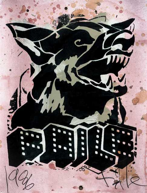 FAILE, 'Faile Dog II', 2006, Tate Ward Auctions