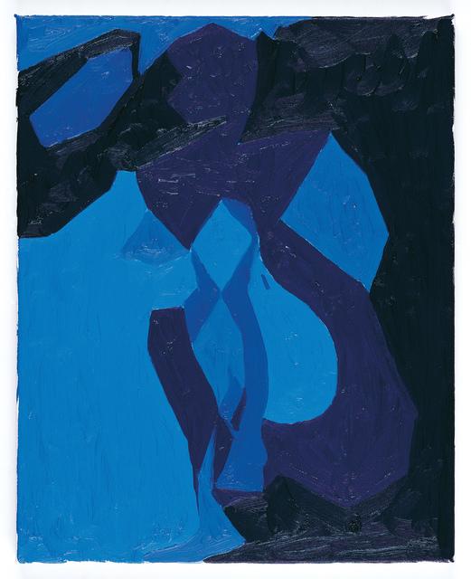 Chris Ofili, 'Nude Study in Blue', 2006, Gary Tatintsian Gallery