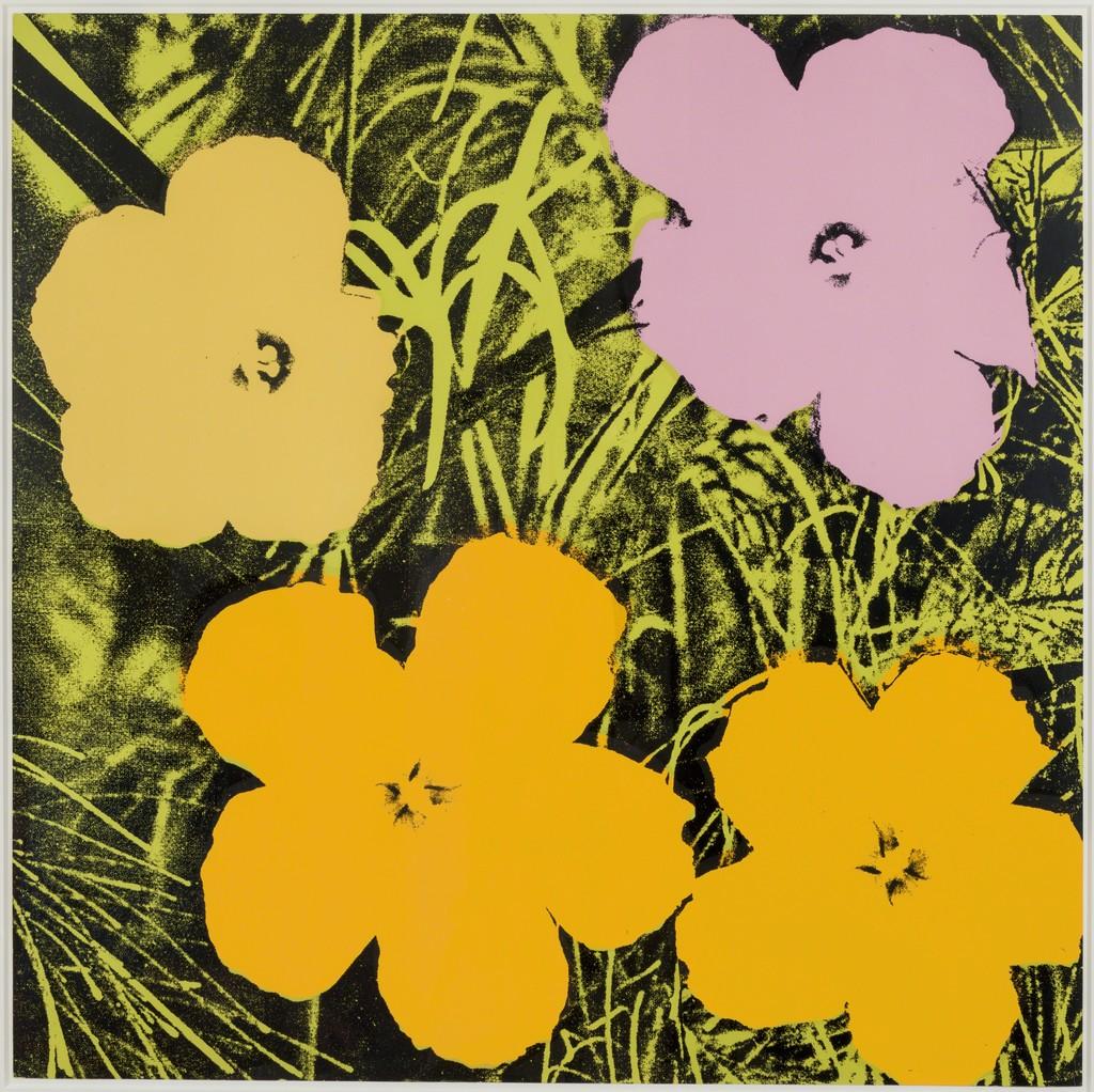 "Andy Warhol, ""Flowers,"" 1970"