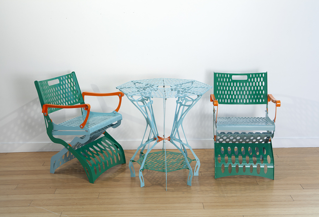 Jesse Small, 'Table and Chairs', 2019, Nancy Hoffman Gallery