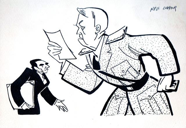 , 'Ion Antonescu and Mihai Antonescu,' ca. 1953, Nasui Collection & Gallery