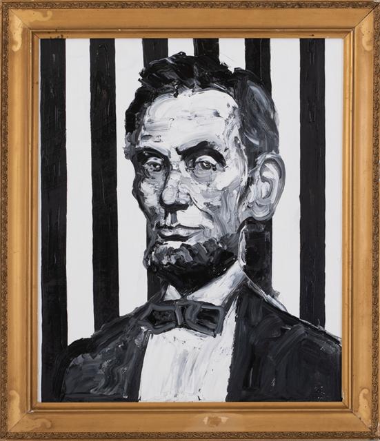 Hunt Slonem, 'Lincoln (EA01472)', 2019, Galerie de Bellefeuille