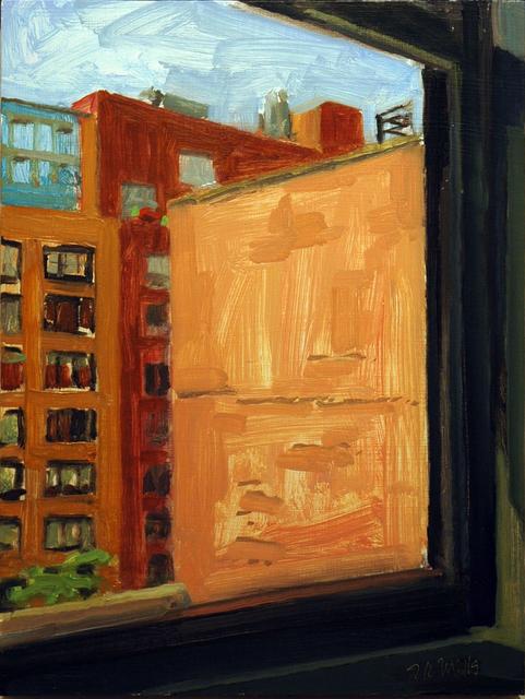 Richard Kirk Mills, 'Brushy Sunlit Wall', 2017, Blue Mountain Gallery