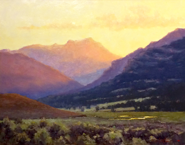 , 'Hidden Valley (Lamar Valley, Yellowstone National Park),' , Beverly McNeil Gallery