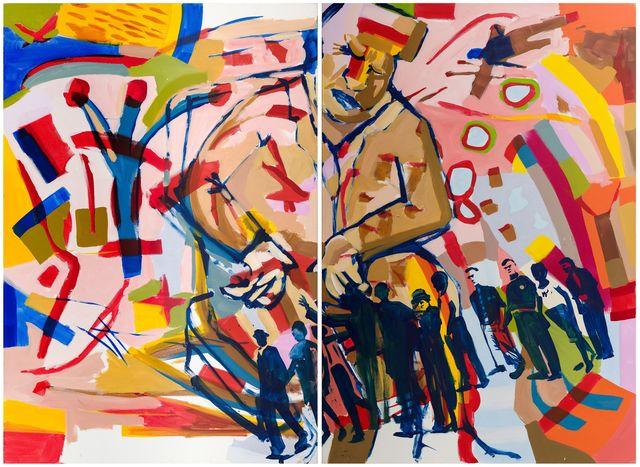 , 'Human Chess (2),' , Fils Fine Arts