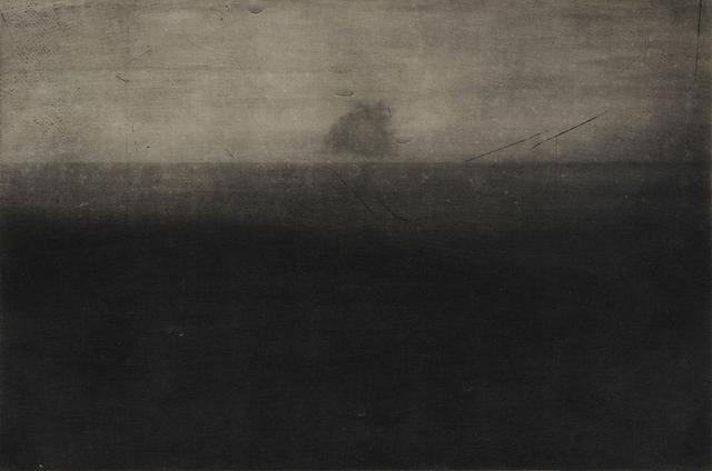 , 'Ash Cloud#1,' 2014, MATÈRIA