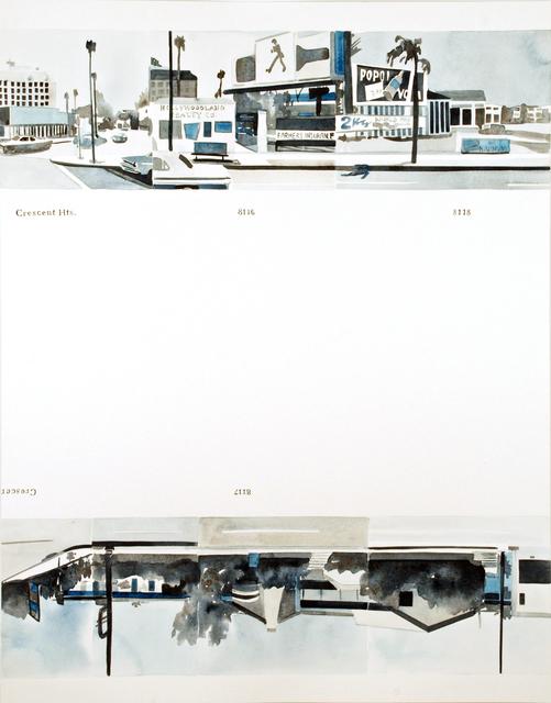 , 'Ed Ruscha's Every Building on the Sunset Strip, #2,' 2016, Morgan Lehman Gallery