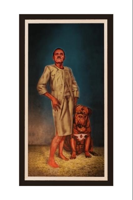 , 'Canis Pugnax - 5,' 2014, Christinger De Mayo