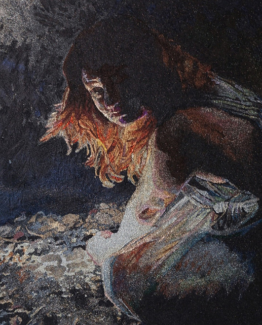 , 'Dark Study Julie,' 2016, Patricia Sweetow Gallery