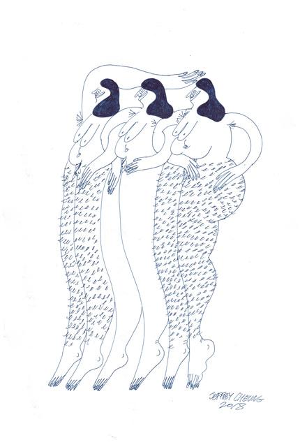 , 'Legs,' 2018, Hashimoto Contemporary