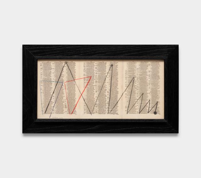 Julio Villani, 'st (zigzag)', 2019, Galeria Raquel Arnaud