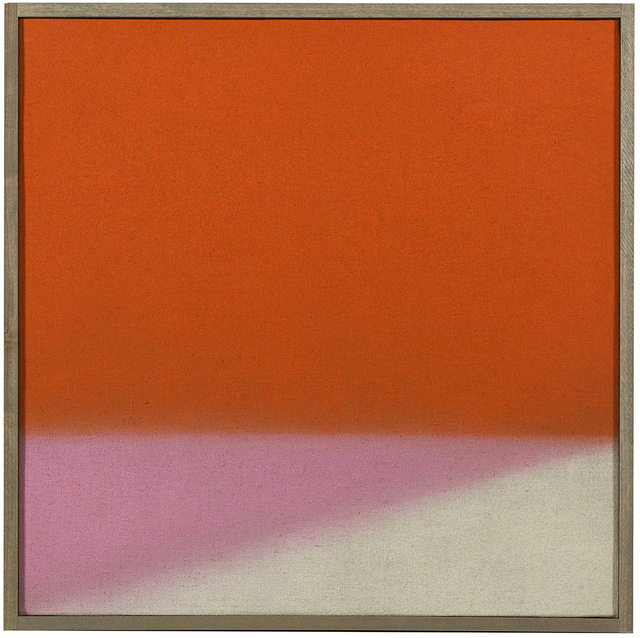 , 'Untitled (Orange/Pink),' 2014, Berry Campbell Gallery
