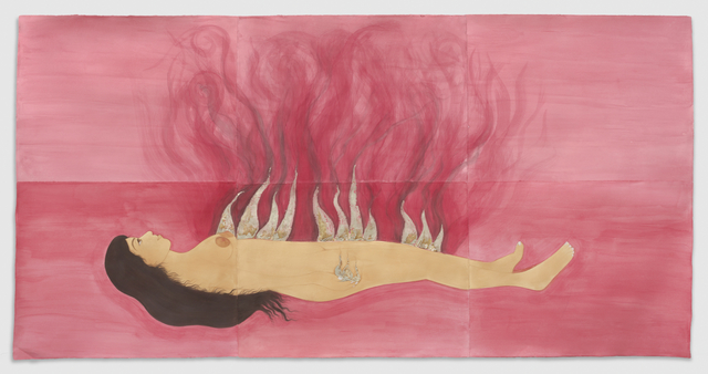 , 'Fire Woman,' 2017, New Image Art
