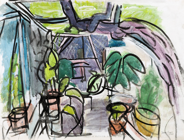 , 'Garden of Estombar, Algarve, Portugal,' 1988, Childs Gallery