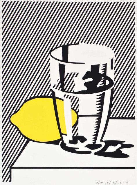 Roy Lichtenstein, 'Untitled (Still Life with Lemon and Glass) for Meyer Schapiro', 1974, Gregg Shienbaum Fine Art