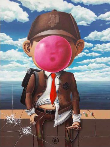 , 'Son of a Bubble Man,' 2018, Avenue des Arts