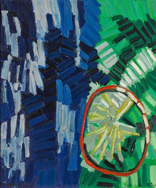 , 'Landscape with Wheel,' 1980, Phillips Collection