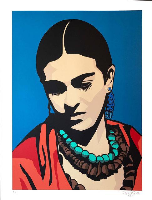 , 'Young Frida (blue version),' 2006, Warnock Fine Arts