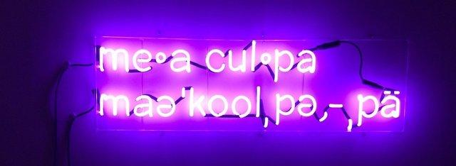 , 'Mea Culpa ,' 2015-2018, InLiquid