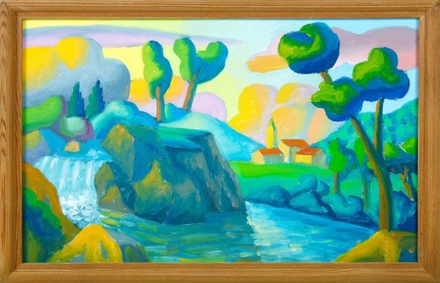 Salvo, 'Rivisitando Cignaroli', 2008, Painting, Oil on canvas., Cambi