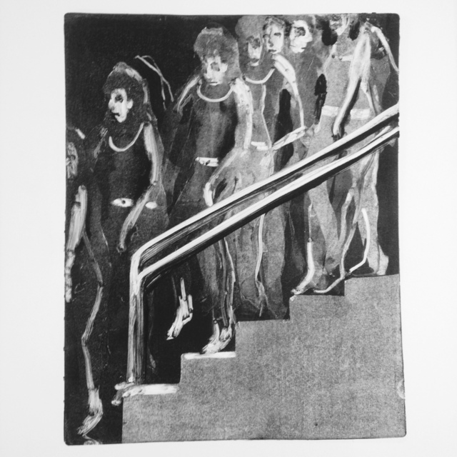 , 'Descending a Staircase 1,' 2017, Park Place Gallery