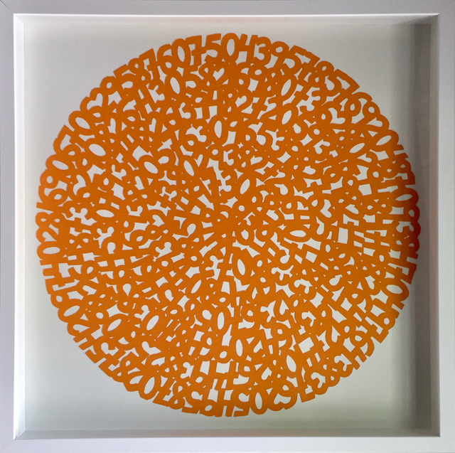 , 'Concentric Orange,' 2017, Parlor Gallery