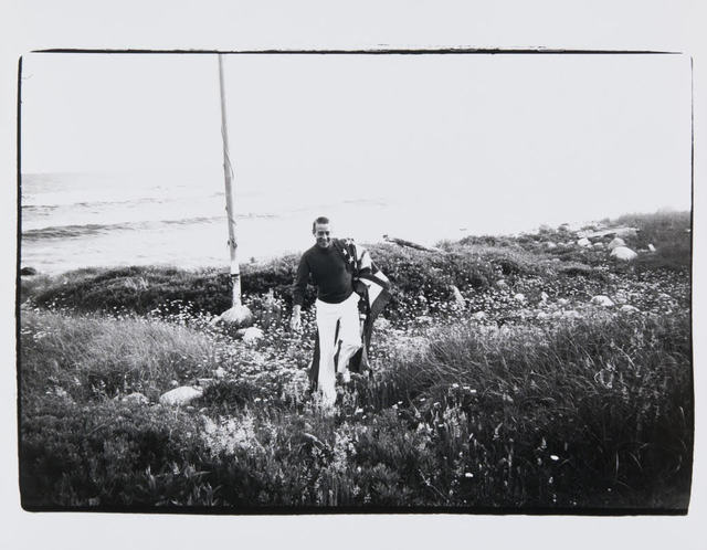 , 'Andy Warhol, Halston in Montauk,' , Hedges Projects