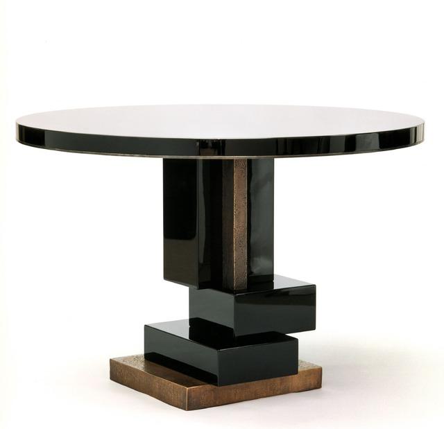 Hervé van der Straeten, 'Table Cumulus', 2004, Design/Decorative Art, Stone top, lacquered wood, patinated bronze, Maison Gerard
