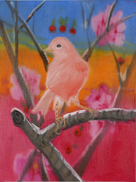 , 'Pink Canary (Stepping Out, at Sunset, in Snow), 2018,' 2018, Maccarone