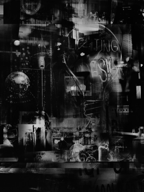Valérie Belin, 'Lights On Lexington (Reflection)', 2019, Photography, Pigment print back-mounted on Dibond and framed with non reflect glass, Galerie Nathalie Obadia